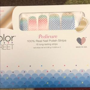 Color street pedicure